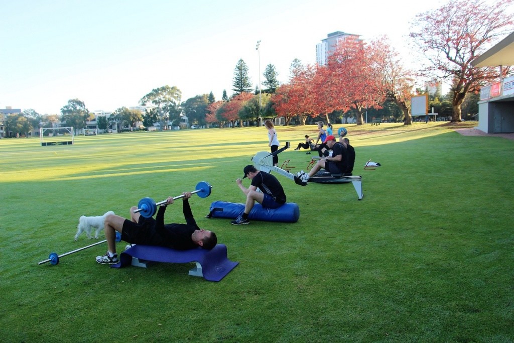 Fine Tune Fitness Gym South Perth - Cross Train X-treme outdoor class