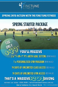 Fine Tune Fitness Gym South Perth - $49 Spring Starter Deal