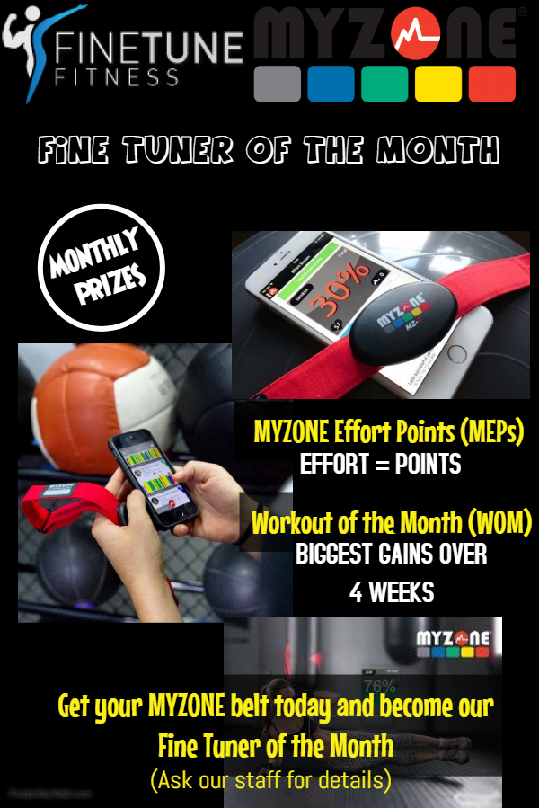 Myzone Fine Tune Fitness gym in South Perth