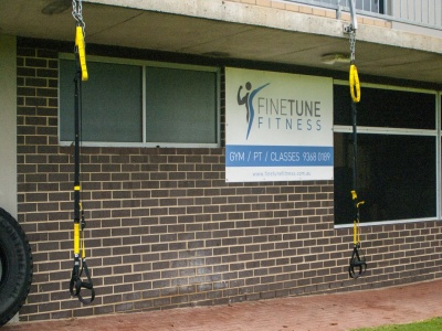 Fine Tune Fitness outside close